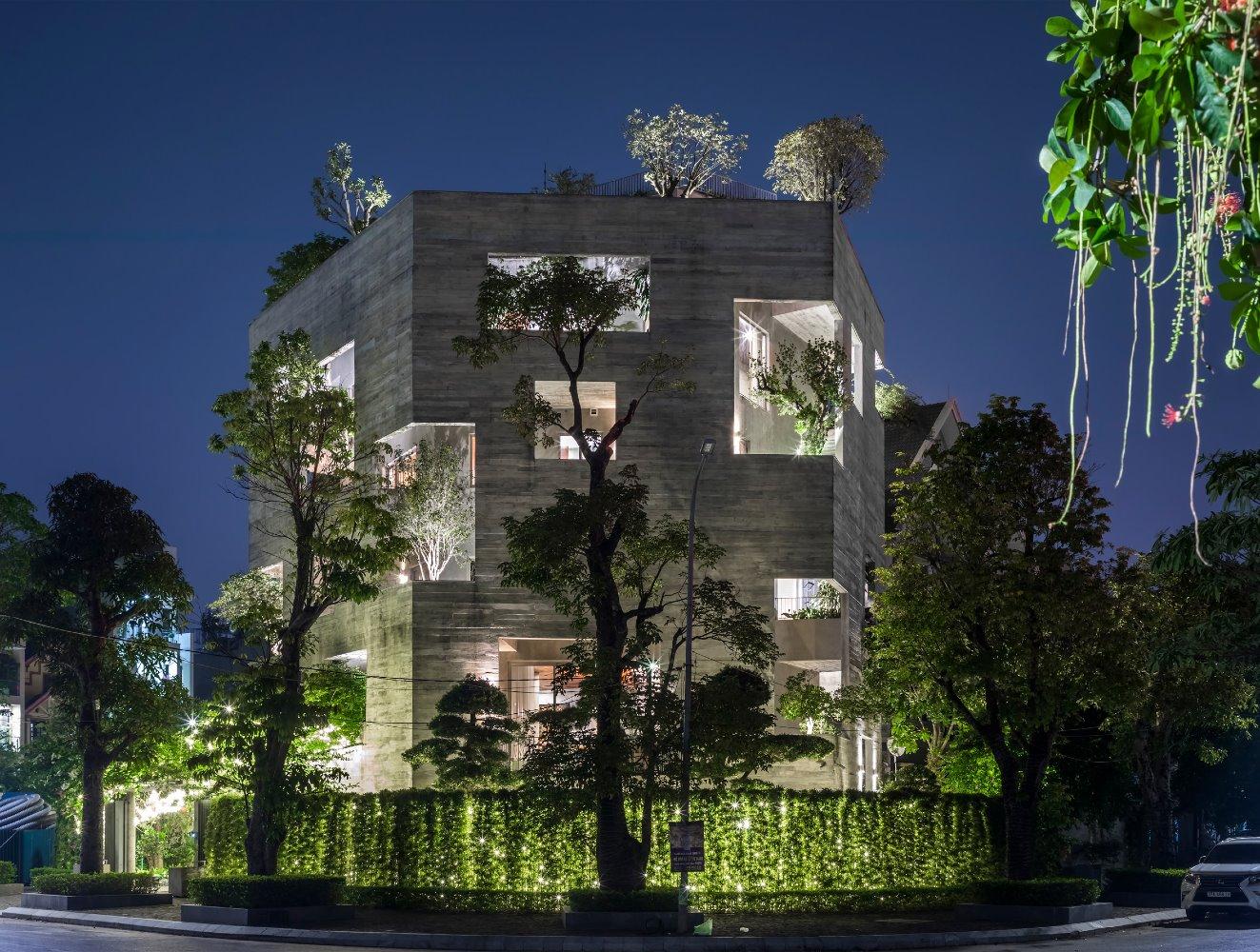 Ha Long Villa Vo por Trong Nghia Architects