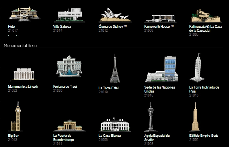 lego arquitectura architecture
