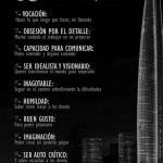 10 requisitos de un buen arquitecto