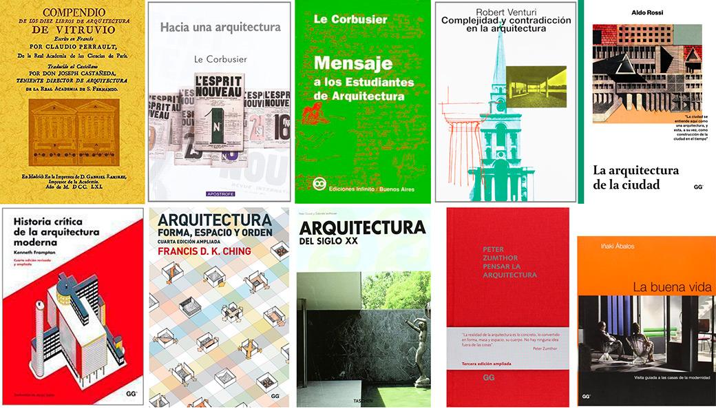 10 libros esenciales para futuros arquitectos libros for Libro medidas arquitectura