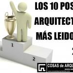 10 post de arquitectura mas leidos 2014 COSAS se ARQUITECTOS