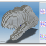 123D Make - Pasa modelos 3D a secciones 2D