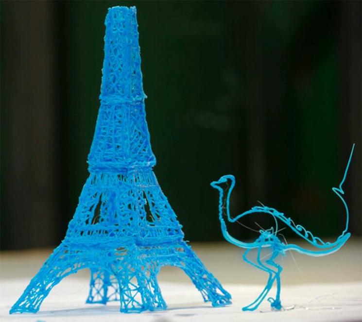 3Doodle – El bolígrafo 3D que te permite dibujar esculturas
