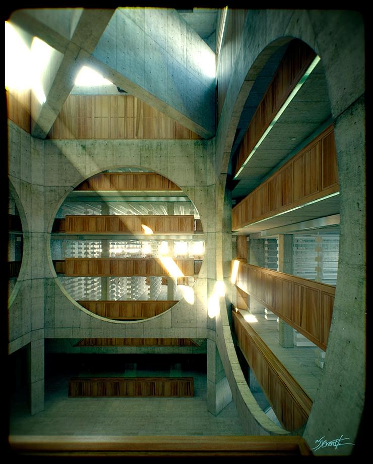 3d-arquitectura-bibliotecta-phillips-exeter-02 3d de arquitectura