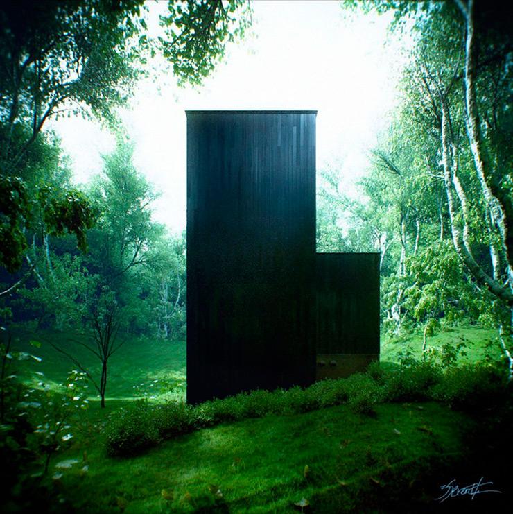 3d-arquitectura-refugio-en-el-bosque