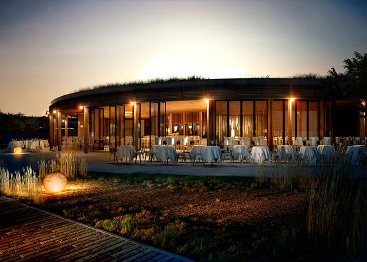 25 renders 3d de arquitectura que parece mentira que no for Restaurante arquitectura