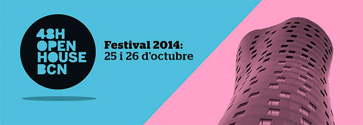 Festival de arquitectura 48h open house Barcelona – ready, steady, GO!