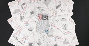 Cartas de arquitectura – 50 Urban Blocks