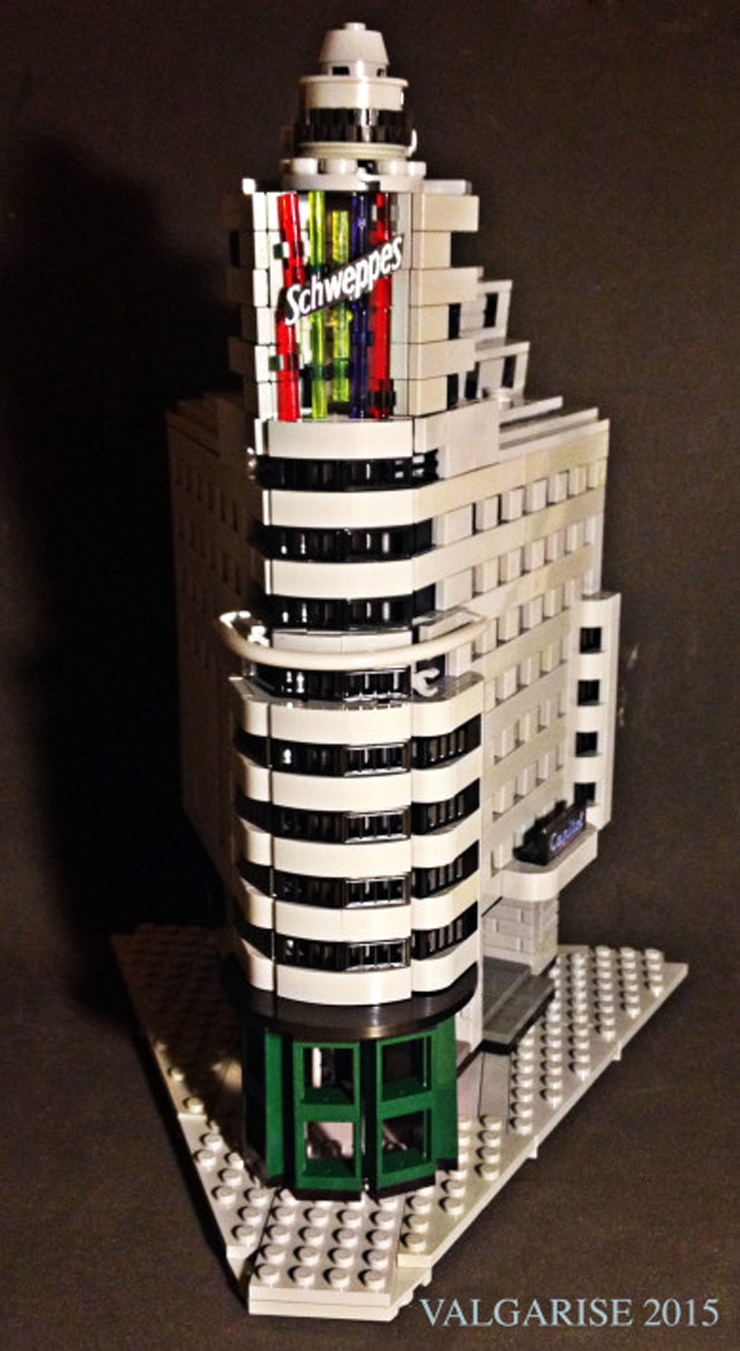 lego architecture madrid edificio carrion schweppes