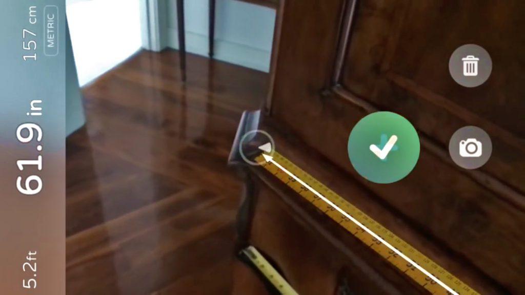 Medir distancias con el móvil utilizando la realidad aumentada de iOS 11