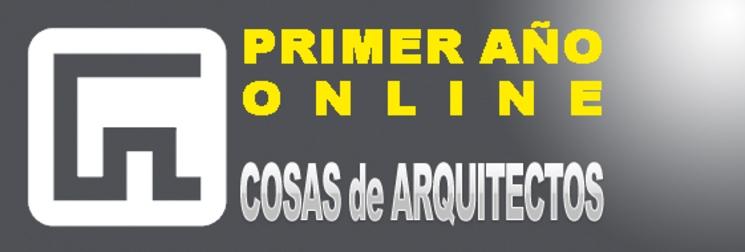 Primer año online de COSAS de ARQUITECTOS