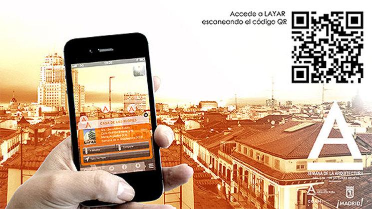 """Aplicación """"SemanaArquitectura"""" para teléfonos móviles y tablets"""