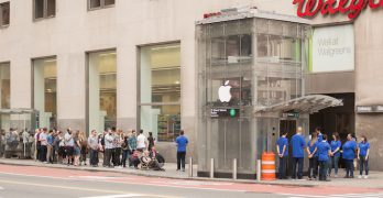 Apple Store de pega