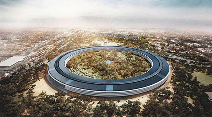 Nueva sede de Apple en Cupertino por Foster+Partners