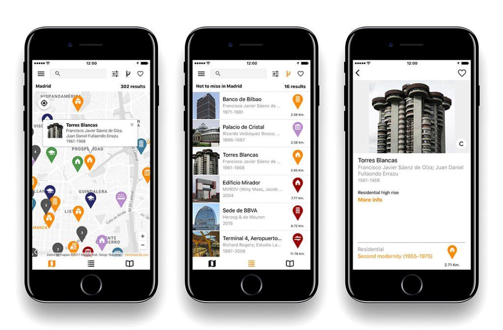 ArchiMaps aplicacion guia arquitectura