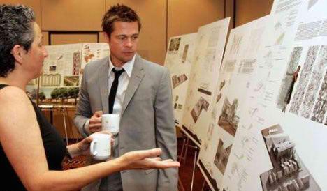 arquitectos en el cine brad pitt