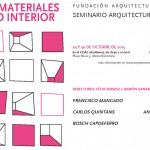 Nuevos materiales y Espacio interior – Seminario Arquitectura e Industria