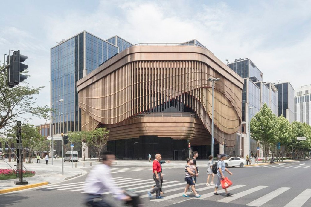 Arquitectura como producto bund finance center shanghai