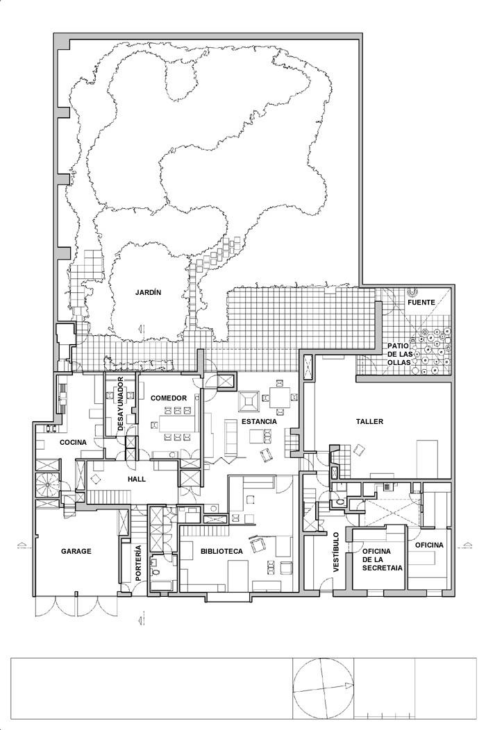 Arquitectura como producto luis barragan planta