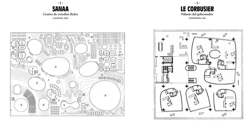 Arquitectura comparada sanaa le corbusier