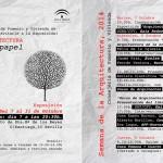 Arquitectura de papel semana arquitectura sevilla 2014