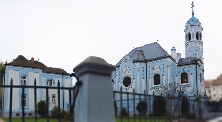 La iglesia azul – Santa Isabel de Hungría en Bratislava