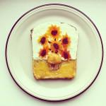 Desayuno artístico | Famosas pinturas sobre una tostada