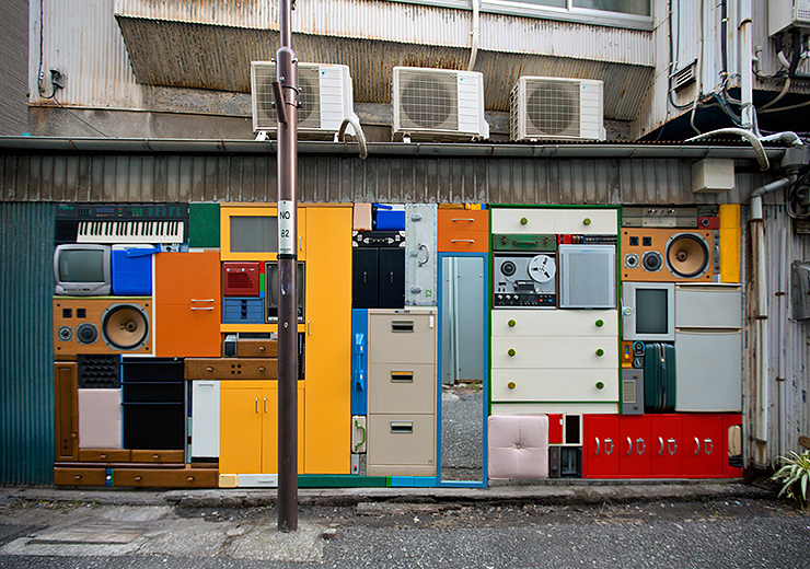 Arte tetris organización johansson