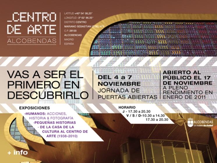 Nuevo edificio Centro de Arte Alcobendas (Madrid)