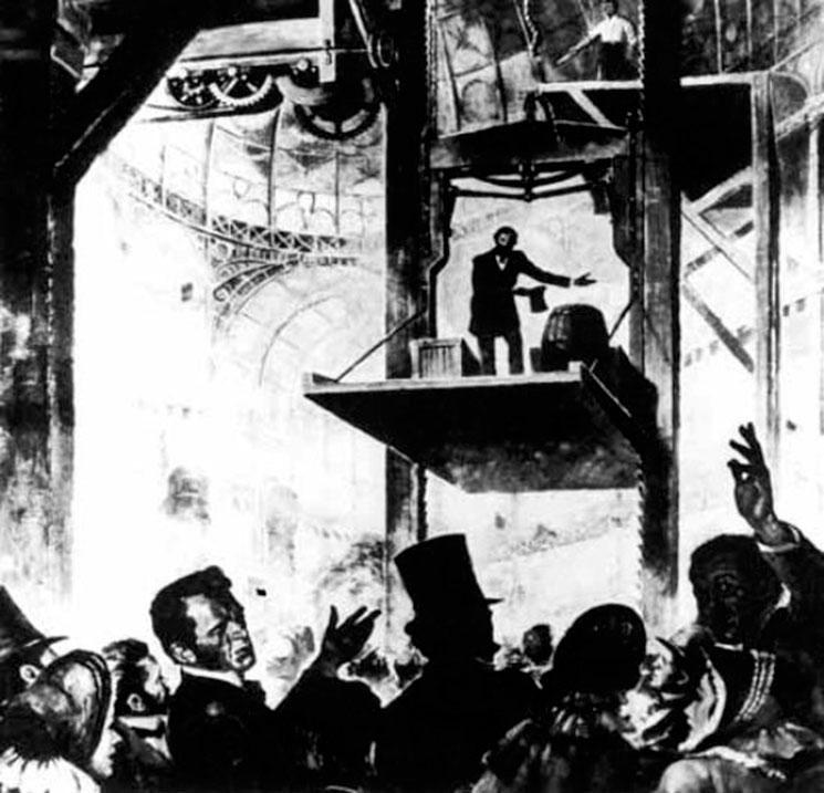 historia ascensor