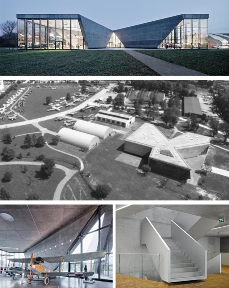 Museo polaco de aviación - Pysall Ruge Architekten - (2.010)