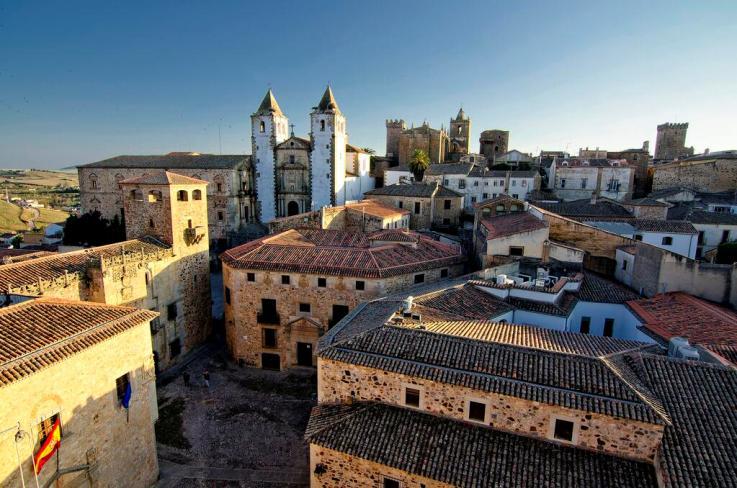 Vista de Cáceres. Fotografía de @NatGeoSpain