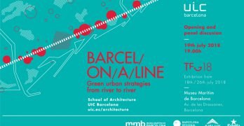 Exposición BARCEL/ON/A/LINE | Green urban strategies from river to river