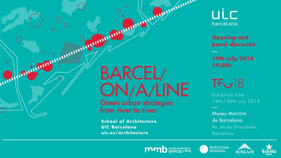 Barcel on a line green urban strategies exposicion