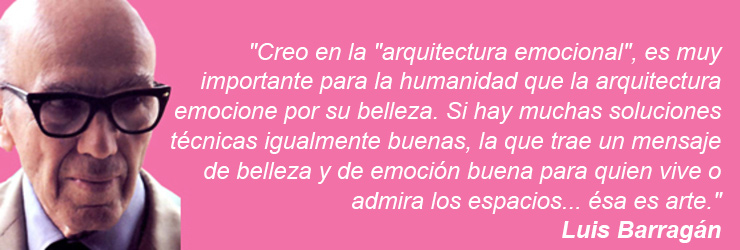Creo en la arquitectura emocional es muy importante para la humanidad