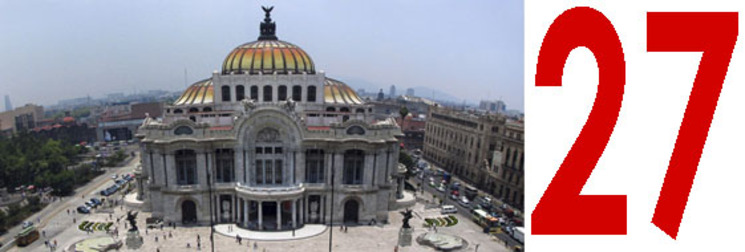 Palacio Bellas Artes México