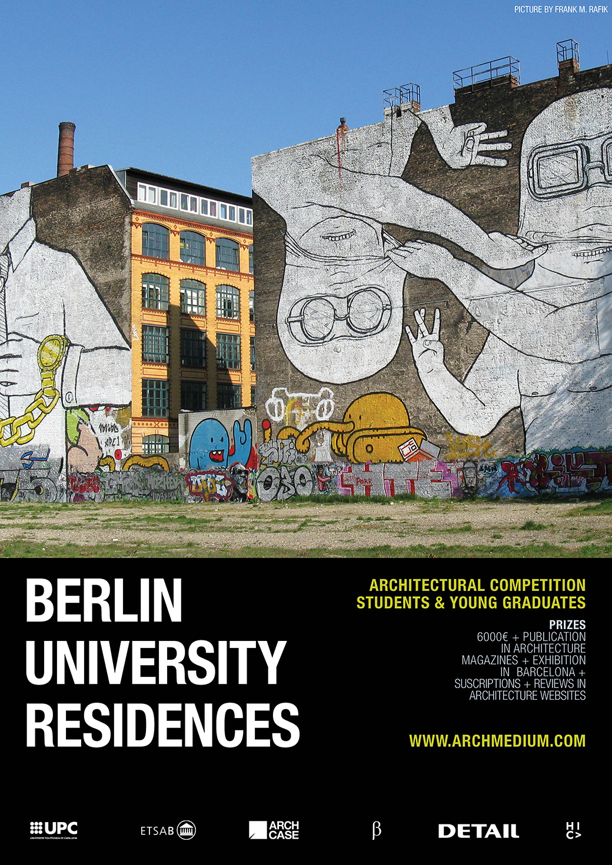 Berlin university residences concurso arquitectura