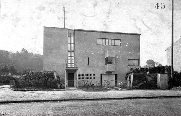 Villa Besnus de Le Corbusier. Cambios de 1922 a 2010