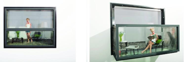 La ventana-balcón bajo demanda