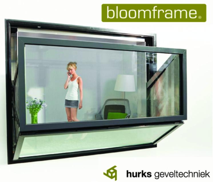 Bloomframe – La ventana-balcón bajo demanda