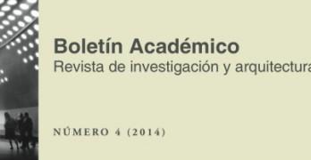 Disponible el número 4 del Boletín Académico de la ETSAC