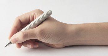 Bolígrafo, portaminas y lápiz de hormigón por 22 Design Studio
