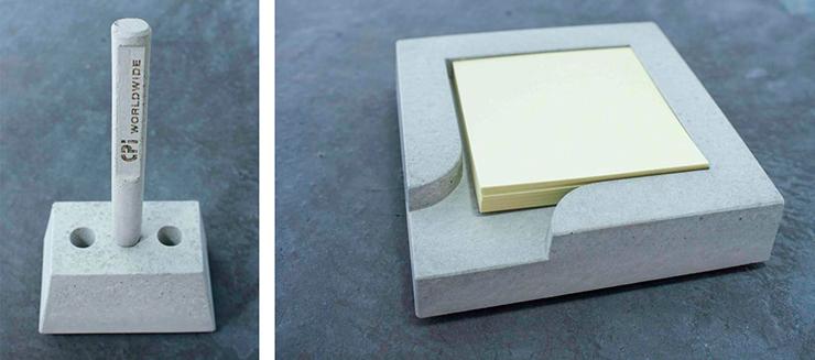 Bolígrafo hormigón concrete pen boligrafo para arquitectos
