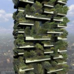 El bosque vertical de Stefano Boeri en construcción
