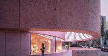 the webster Boutique rosa por david adjaye