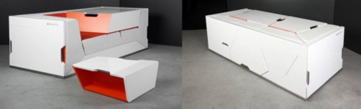Muebles minimalistas Boxetti