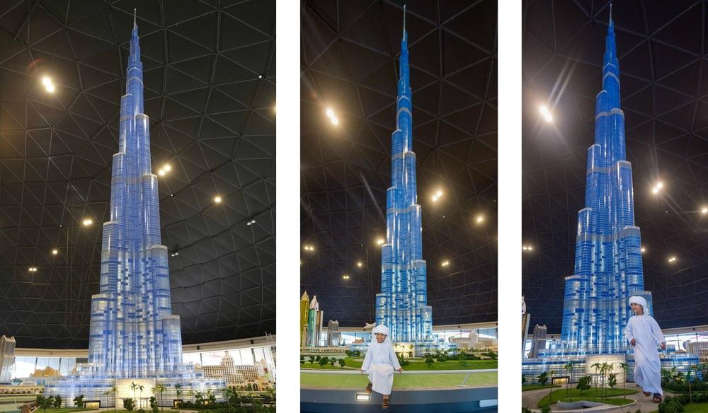 Burj Khalifa de Lego