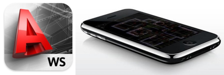 AutoCAD WS para iPad e iPhone