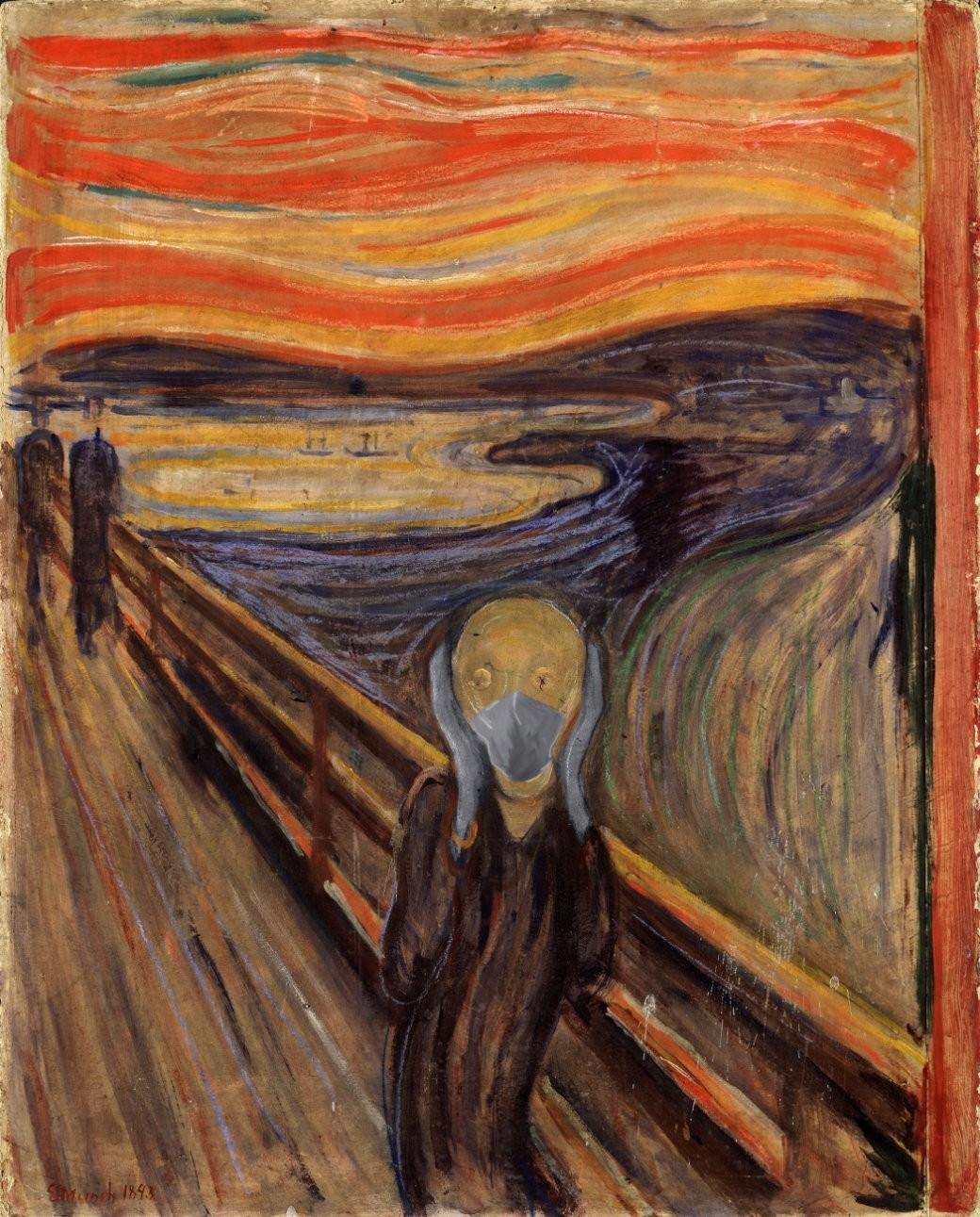 COVID-19-El-Grito-Munch
