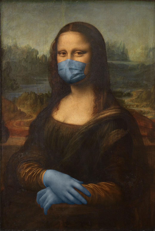 COVID-19-La-Mona-Lisa-Leonardo-da-Vinci